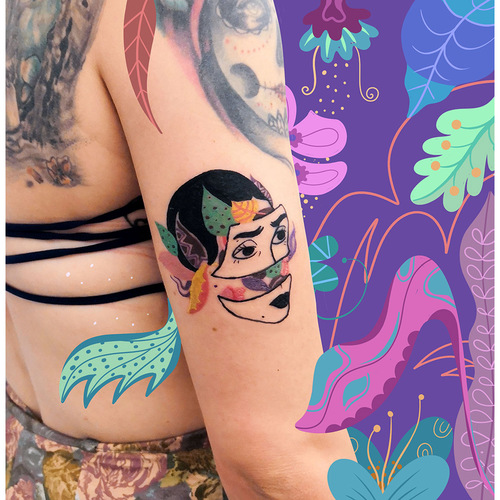 carmen-sanchez-has-recently-added-tattooing-to-her-practice-out-of-curiosity-to-reproduce-her-drawings-on-skin