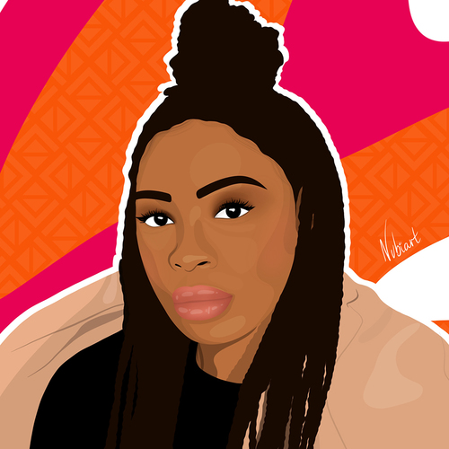 introducing-jael-umerah-makelemi-her-art-aims-to-celebrate-black-women-and-shed-light-mental-health-promoting-self-care