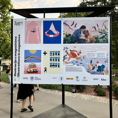 third-ilustrofest-opened-featuring-two-artworks-by-rialda-dizdarevic